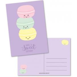 Ansichtkaart - Have a sweet birthday
