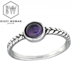 Ring 925 zilver Lynn
