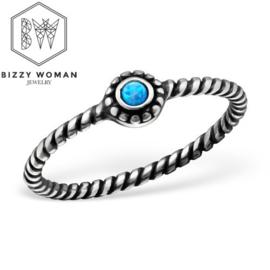 Ring 925 zilver Emma