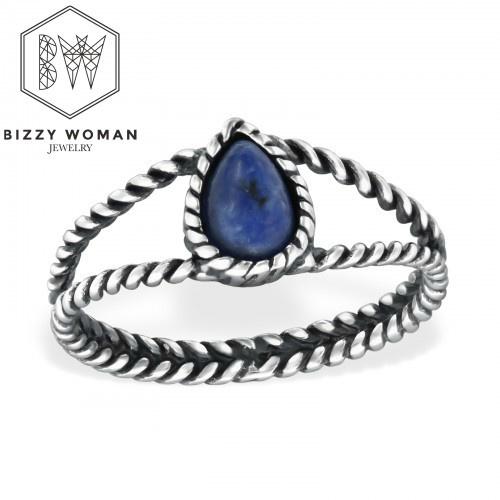 Ring 925 zilver Zoë