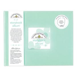 Doodlebug Design Mint 8x8 Inch Storybook Album (5728)