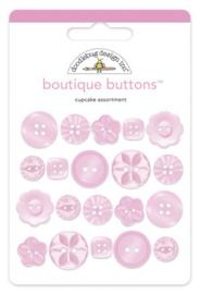 Doodlebug Design Cupcake Boutique Buttons