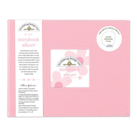 Doodlebug Design Cupcake 8x8 Inch Storybook Album (3200)