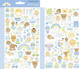 Doodlebug Design Special Delivery Mini Icons Stickers