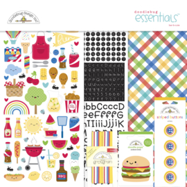 Doodlebug Design Bar-b-cute Essentials Kit