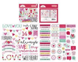 Doodlebug Design Love Notes Chit Chat