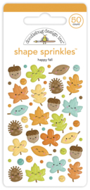 Doodlebug Design Happy Fall Shape Sprinkles