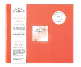 Doodlebug Design Coral 8x8 Inch Storybook Album (5727)