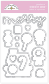 Doodlebug Design Visions of Sugarplums Doodle Cuts