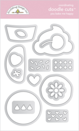 Doodlebug Design You Bake Me Happy Doodle Cuts