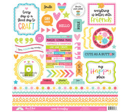 Doodlebug Design Cute & CraftyThis & That Stickers