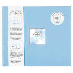 Doodlebug Design Bubble Blue 12x12 Inch Storybook Album (3199)
