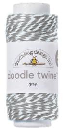 Doodlebug Design Gray Doodle Twine