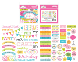 Doodlebug Design Hey Cupcake Chit Chat