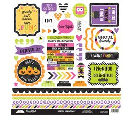 Doodlebug Design Happy Haunting This & That Stickers