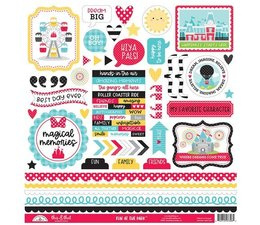 Doodlebug Design Fun at the Park This & That 12x12 Inch Stickers