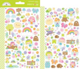 Fairy Garden Mini Icons Sticker (7210)