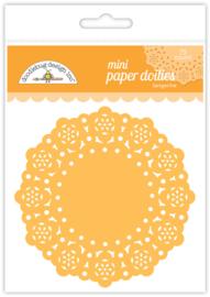 Doodlebug Design Tangerine Mini Doilies