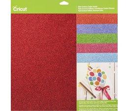 Cricut Cricut Cardstock Glitter Cardstock Brights Sampler (2003711)