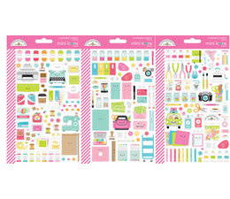 Doodlebug Design Cute & Crafty Mini Icons Sticker