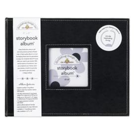 Doodlebug Design Beetle Black 8x8 Inch Storybook Album (2740)