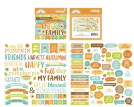 Doodlebug Design Pumpkin Spice Chit Chat