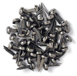 Doodlebug Design Gunmetal Mini Brads
