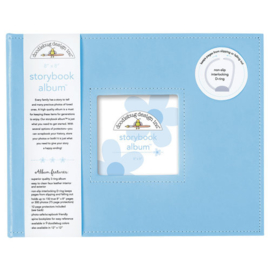 Doodlebug Design Bubble Blue 8x8 Inch Storybook Album (3201)