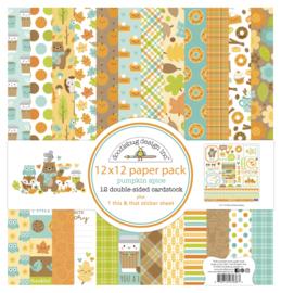 Doodlebug Design Pumpkin Spice 12x12 Inch Collection Pack