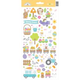 Hippity Hoppity Icons Stickers