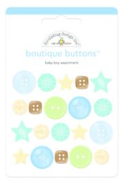 Doodlebug Design Baby Boy Boutique Buttons