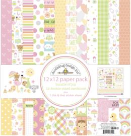 Doodlebug Design Bundle of Joy 12x12 Inch Paper Pack