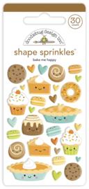 Doodlebug Design Bake Me Happy Shape Sprinkles