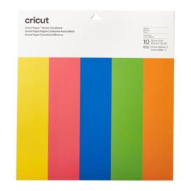 Cricut Smart Sticker Cardstock 33x33cm Brilliant Bows (10pcs)