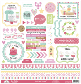Doodlebug Design Made With Love This & That Sticker
