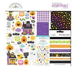 Doodlebug Design Happy Haunting 12x12 Inch Essentials Kit