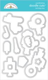 Doodlebug Design Birthday Boy Doodle Cuts