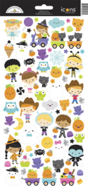 Doodlebug Design Ghost Town Icons Stickers