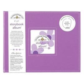 Doodlebug Design Lilac 8x8 Inch Storybook Album (5729)