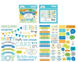 Doodlebug Design Party Time Chit Chat