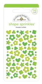 Doodlebug Design Limeade Confetti Shape Sprinkles