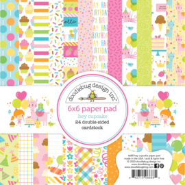 Doodlebug Design Hey Cupcake 6x6 Inch Paper Pad