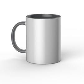 Cricut Mugs Grey/White (Cricut Mokken) 440 ml - 1stuk  2009330