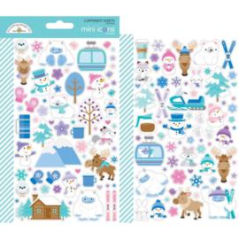 Doodlebug Design Winter Wonderland Mini Icons Sticker