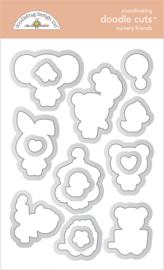 Doodlebug Design Nursery Friends Doodle Cuts