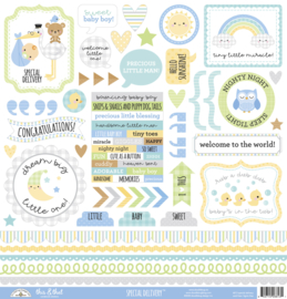Doodlebug Design Special Delivery This & That Stickers