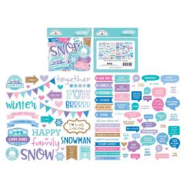 Doodlebug Design Winter Wonderland Chit Chat