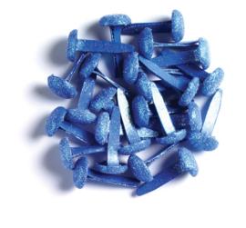 Doodlebug Design Blue Jean Sugar Coated Brads
