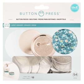 Button press navulling grote buttons Ø58mm