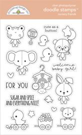 Doodlebug Design Nursery Friends Doodle Stamps
